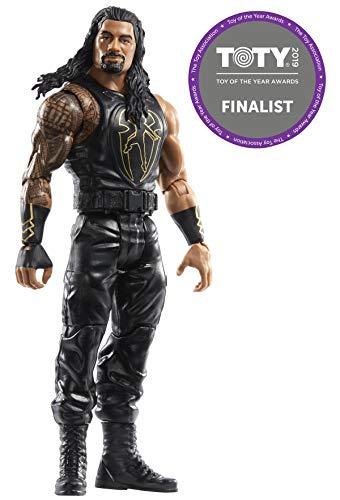 Mattel FWL86 WWE Roman Reigns 15 cm Sound Slammers Figur, Spielzeug Actionfiguren ab 6 Jahren
