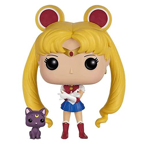 Jokoy Funko Pop Anime: Sailor Moon #89 Sailor Moon with Luna Multicolor