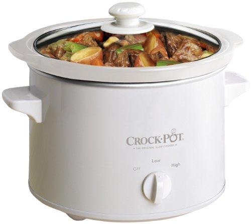Crockpot SCCPQK5025W-060 Schongarer, 2.4 Liter, weiß