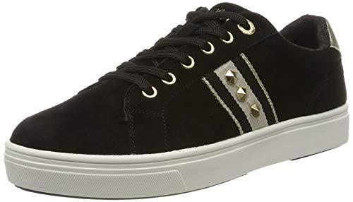 s.Oliver Damen 5-5-23602-23 Sneaker, Schwarz (Black 001), 38 EU