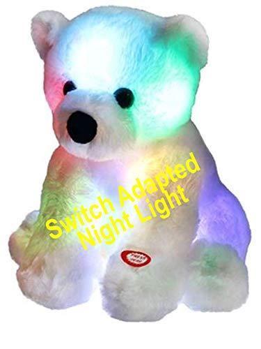 Switch Adapted Toy Polar Bear Night Light   Adaptive Toys   Special Needs Switch Toys   Switch Toys