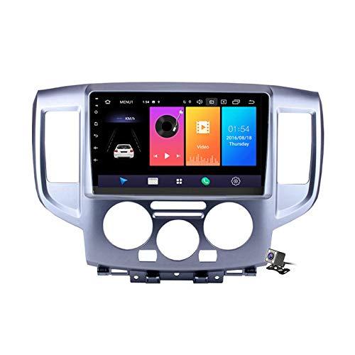 日産NV200用カーステレオAndroid9.0ラジオ2014-2018GPSナビゲーション9インチタッチスクリーンヘッドユニットMP5マルチメディアプレーヤービデオ、4G WiFiDSPミラーリンク付き