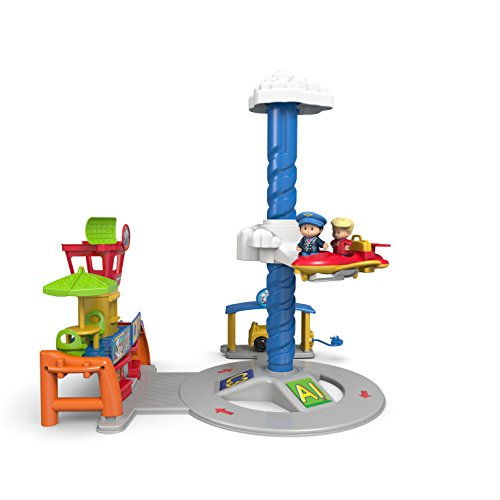 Mattel DGN26 Fisher-Price - Little People Flughafen