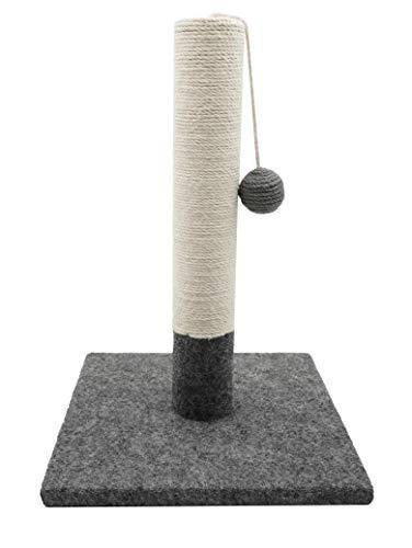 Tyrol Poteau Griffoir Simple Gris Et Blanc 42Cm 1 Unité
