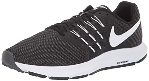 Nike Wmns Run Swift, Zapatillas de Trail Running Mujer, Negro (Black/White/Dark Grey 001), 42 EU