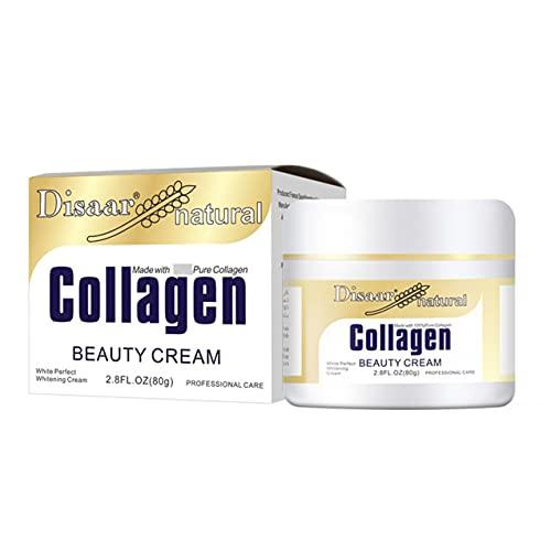 Zhou-YuXiang Crema Facial antienvejecimiento supercolágeno orgánico Que Reduce Las líneas Finas Arrugas Crema hidratante para Hombres y Mujeres