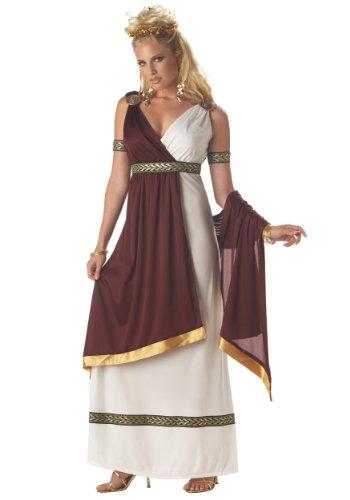 California Costumes Déguisement Impératrice Romaine Femme - Blanc - XL (44/46)