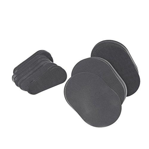 perfk 80pcs-Set Enthaarungspads Set Haarentfernung Pads schmerzfrei für eine sanfte Haut