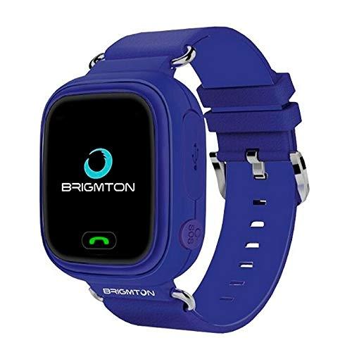 Brigmton BWATCH-Kids SmartWatch GPS, Morado