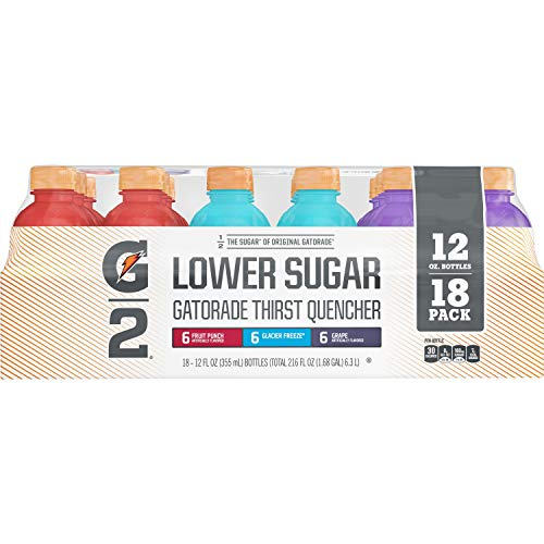 Gatorade (18 Pack) G2 Thirst Quencher Low Calorie Variety Pack, 12 Fl Oz