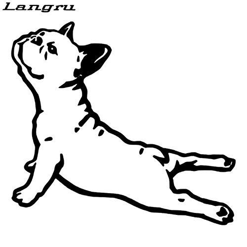 JYIP Bulldog France Animal Car Sticker Pet Dog Cartoon Car Styling Accesorios de...