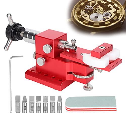 WNSC Abridor de Caja Trasera de Reloj, Conveniente máquina para Abrir Caja Trasera de Reloj 20,7 cm / 8,1 Pulgadas de Longitud Durable para Herramienta de reemplazo de batería para Herramienta