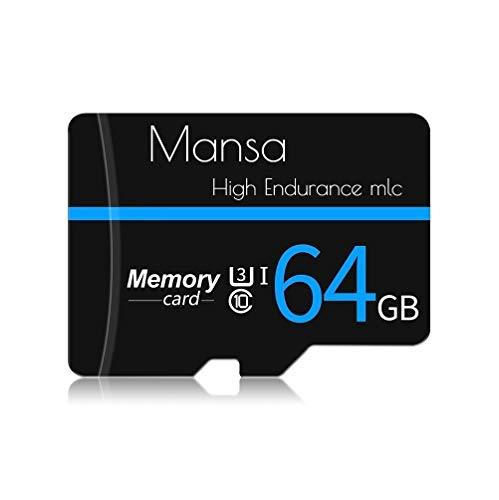 Mansa microsd 高耐久 ドライブレコーダー用 カード 32GB メモリカード Class10 MLC NANDフラッシュ採用 (64GBドラレコMLC)