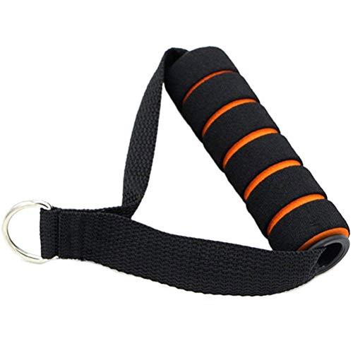 Kabelzug Griffe, 1PCS Sports Trainingshilfen Einhand Griff Gepolster, Fitness am Kabelzugturm Zufällige Farben