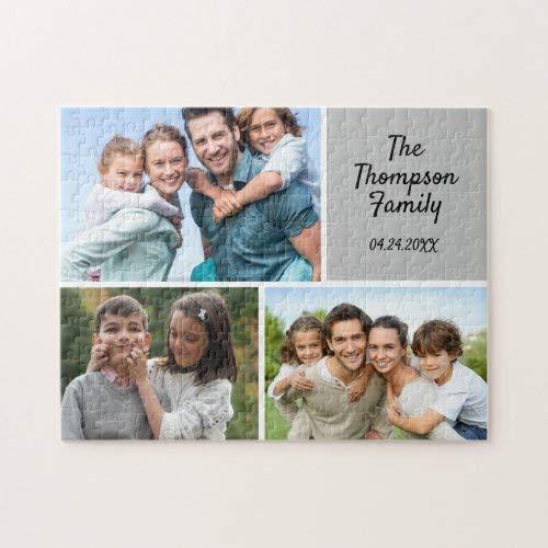 Tamengi Foto personalizada Collage Jigsaw Puzzle 1000 500 piezas