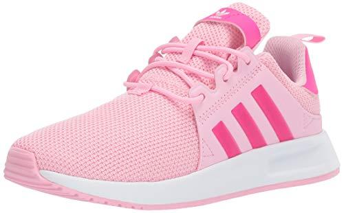 adidas Originals Unisex X_PLR Running Shoe, True Pink/Shock Pink/White, 2 M US Little Kid