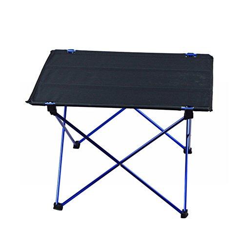Klapptisch Campingtisch, ULTRALIGHT einfach zu tragen praktisch und praktischer Tisch für Wandern Angeln Beach Outdoor Aktivitäten