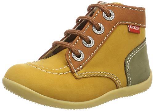 Kickers Unisex Baby Bonbon Stiefel, Gelb (Jaune Multi 73), 24 EU