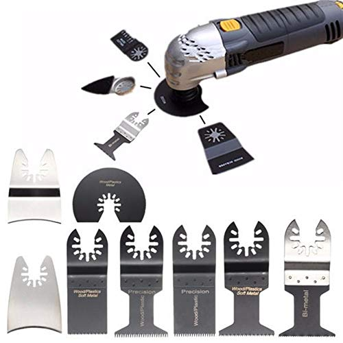 Best Prices! Oscillating Tools 12pcs For Bosch Fein Dewalt Porter Multimaster Saw Blades Oscillating...