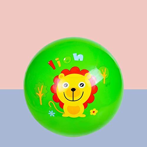 HZBTOY Kinderball, aufblasbarer Spielzeugball Interessantes Spielzeug, grün