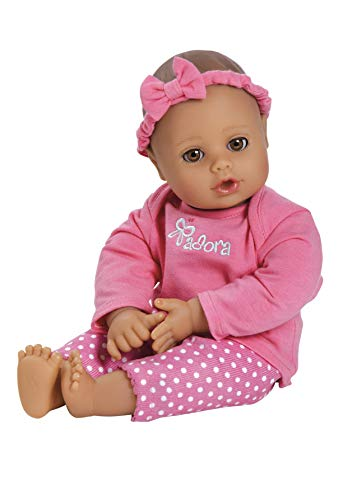 Adora Playtime Collection Pink 13' Soft Baby Doll with Bottle