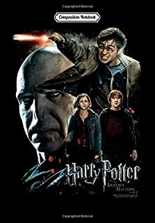 Composition Notebook: Harry Potter Final Fight, Journal 6 x 9, 100 Page Blank Lined Paperback Journal/Notebook