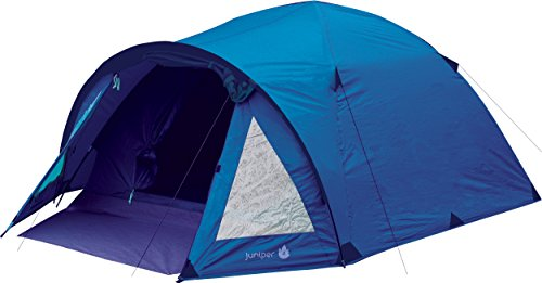 Highlander Juniper Tent - Blue, 4 Persons