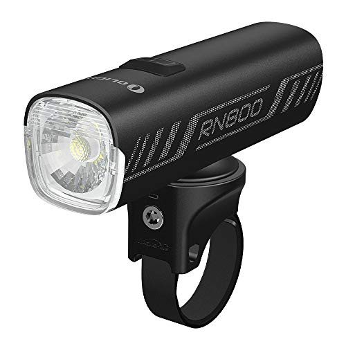 Olight RN 800 LED Frontlichter USB Wiederaufladbar, 800 Lumen 137 Meter Leuchtweite, IPX6 Wasserdicht, Multifunktionelle Montage 5 Lichtmodi, Gut für MTB-Fahren, Pendeln