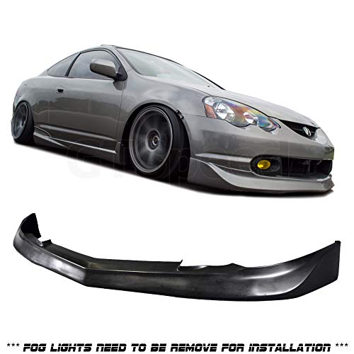 [Sasaonsale] Compatible/Replacement for MUGN Style PU Front Bumper Lip, 02-04 Acura RSX