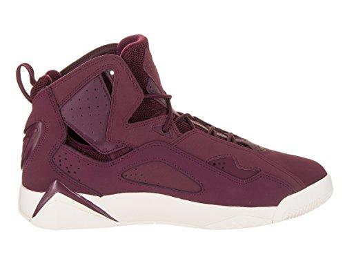 Jordan Men's True Flight Basketball Shoe, Bordeaux/Bordeaux-Sail 8