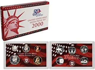 2000 us silver proof set