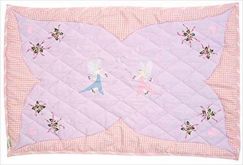 Fairy Cottage Floor Quilt (Win Green - Groß)