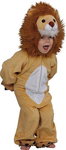 Chaks - Cs850045/116 - Costume Peluche Lion Toon 116 cm 4/5 Ans