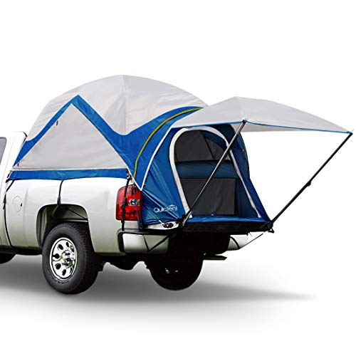 Quictent Upgraded 100% Waterproof Truck Tents with Removable Awning, Rainfly & Storage Bag Included