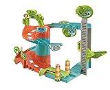 Clementoni- Fun Garage Baby Track Set di Gioco, Multicolore, 17404