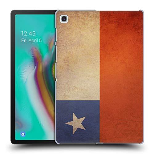 Head Case Designs Chile Chilenisch Vintage Fahnen 3 Harte Rueckseiten Huelle kompatibel mit Samsung Galaxy Tab S5e