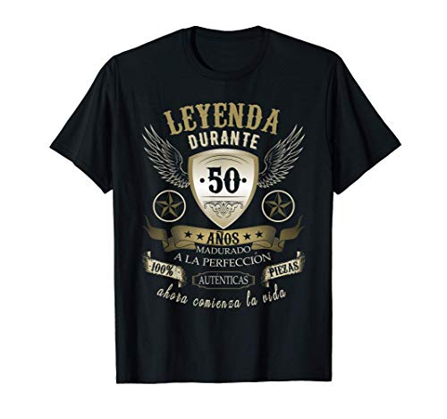 Regalo 50 cumpleaños hombres mujeres 50 años Camiseta