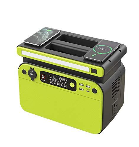 CTECHI Bärchen 518Wh/500W Tragbarer PowerStation | Mobiler Camping Generator | Lithium-Eisen-Phosphat-Batterie 220V AC, 1000W Max