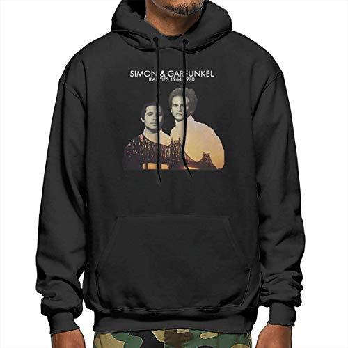 for Men Simon & Garfunkel Herren Hoodies Casual Hooded Drawstring Sweatshirts mit Tasche Weihnachten S-XXL Gr. XX-Large, mehrfarbig