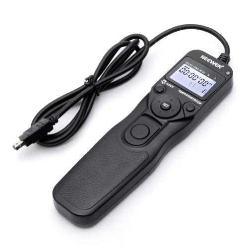 Neewer Digital Timer Remote Shutter Release Trigger(Replacement for MC-DC2)for Nikon D90 D600 D610 D3100 D3200 D3300 D5000 D5100 D5200 D5300 D7000 Digital SLR Cameras
