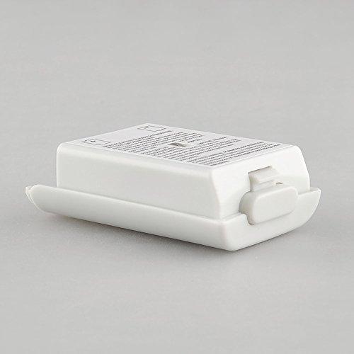 Cewaal Reemplace la cubierta del compartimiento de la batería para Xbox 360 Controlador inalámbrico Gamepad