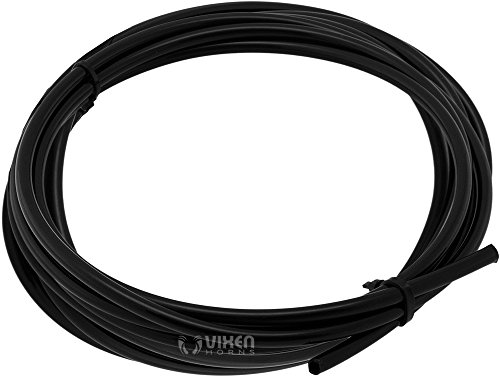 """Vixen Horns 1/4"""" OD Nylon Plastic Hose Up to 225PSI 20 Feet for Train/Air Horn Systems and Other Suspension Applications VXA7142"""