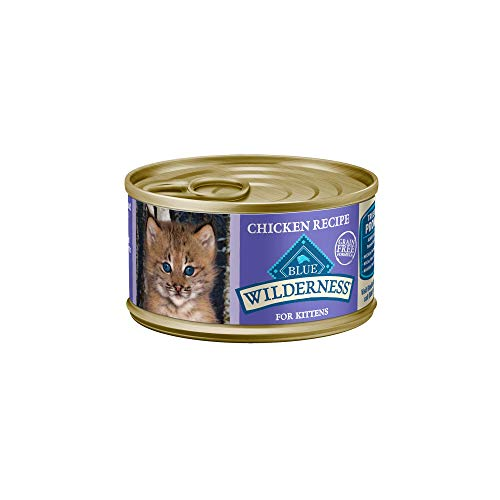 Blue Buffalo Wilderness Natural Grain Free Chicken Pate Wet Kitten Food