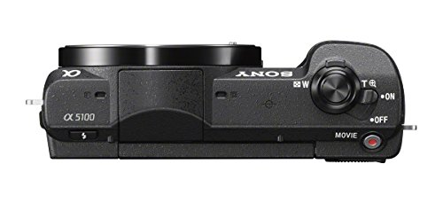 Sony a5100 Mirrorless Digital Camera with 3-Inch Flip Up LCD - Body Only (Black)