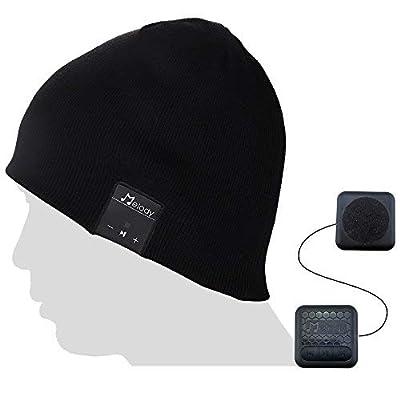 Bluetooth Beanie Music Hat,Coeuspow V4.1 Wirele...