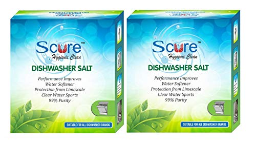 Scure Dishwasher Salt – 900 GM X 2 = 1800 GM