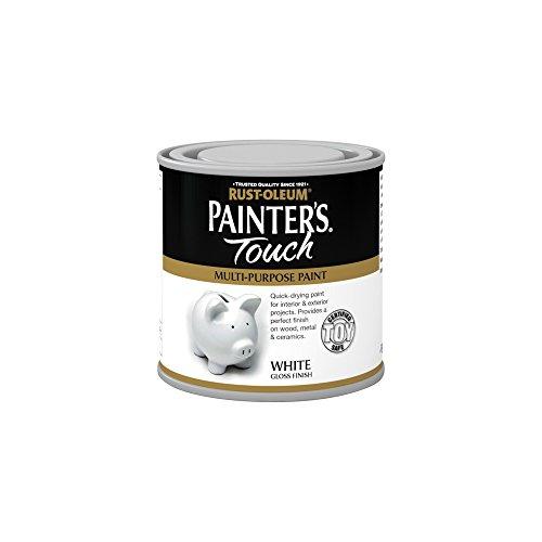 Rustoleum RO0050002F1Painter 's Touch, spielzeugechte Farbe, 250ml, weiß glänzend
