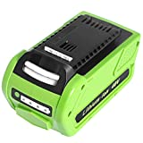 Amityke 40V 6000mAh Battery Replacement Compatible with Greenworks 29472 G-MAX 29462 29252 20202 22262 25312
