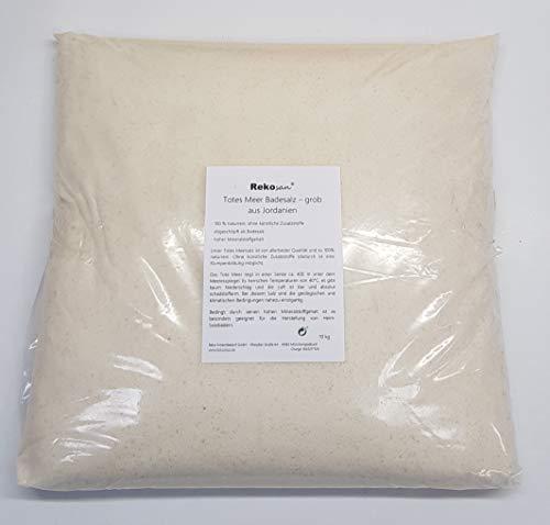 Rekosan Totes Meer Salz 10 kg Badesalz aus Jordanien Meersalz grob