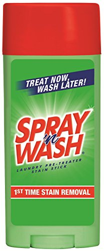 Spray 'N Wash Stain Stick, Pre Treater Laundry Stain Remover, 3 Ounce (Pack of 2)